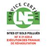 Certification SERPOL LNE exécution travaux