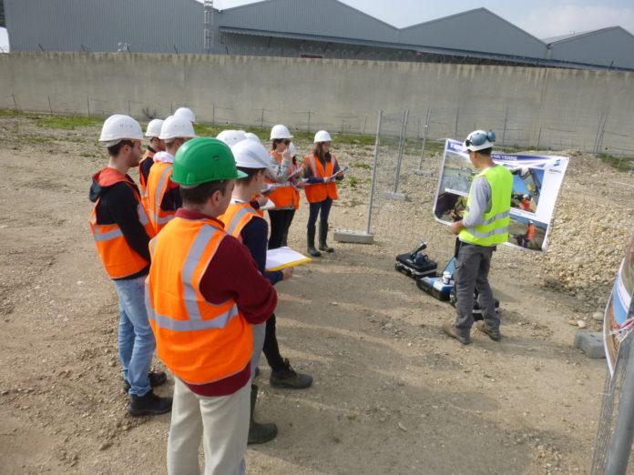 Visite guidée d'un chantier de dépollution